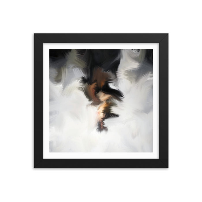 Van Bay Art Print - Enhanced Matte Print - White Border / Frame / 10×10