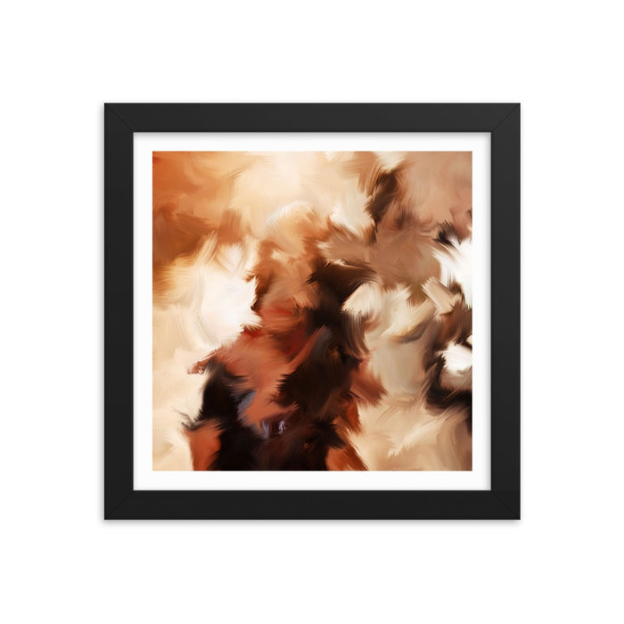 Mid Summer Kiss Art Print - Enhanced Matte Print - White Border / Frame / 10×10