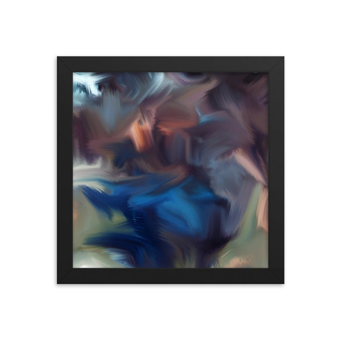 Cyclone Moment Art Print - Enhanced Matte Print / Frame / 10×10