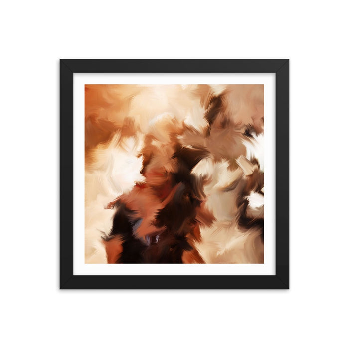 Mid Summer Kiss Art Print - Enhanced Matte Print - White Border / Frame / 12×12
