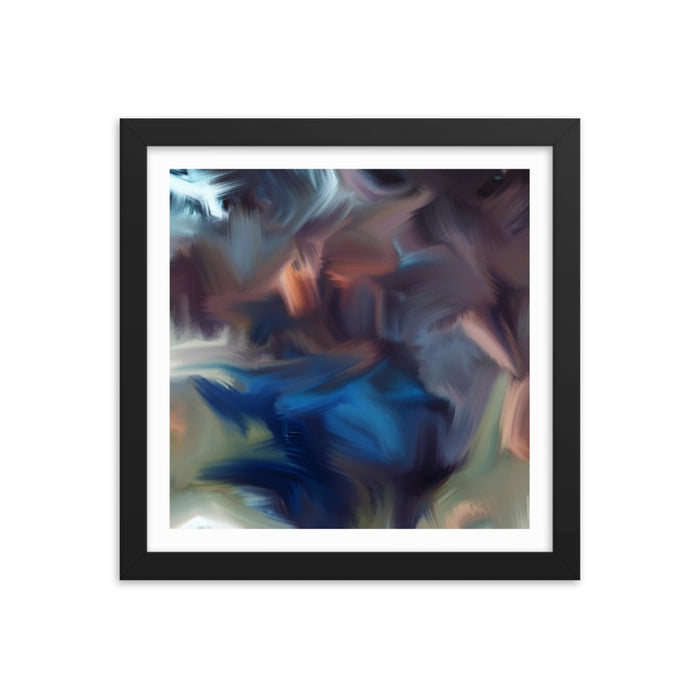 Cyclone Moment Art Print - Enhanced Matte Print - White Border / Frame / 12×12