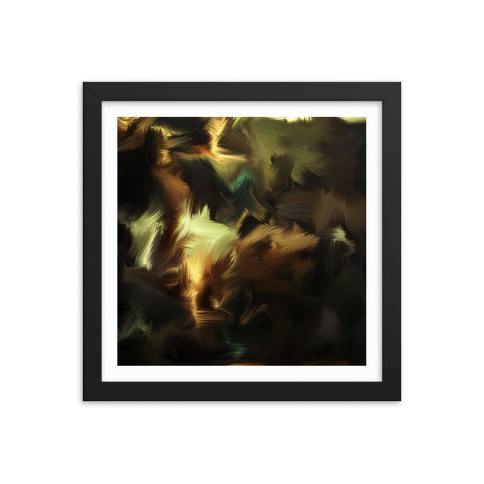 A Studious Pupil Art Print - Enhanced Matte Print - White Border / Frame / 12×12