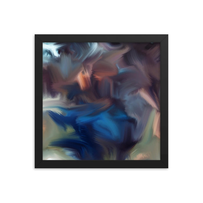 Cyclone Moment Art Print - Enhanced Matte Print / Frame / 12×12