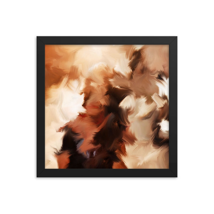 Mid Summer Kiss Art Print - Enhanced Matte Print / Frame / 12×12