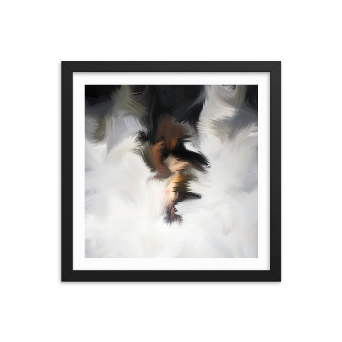 Van Bay Art Print - Enhanced Matte Print - White Border / Frame / 14×14