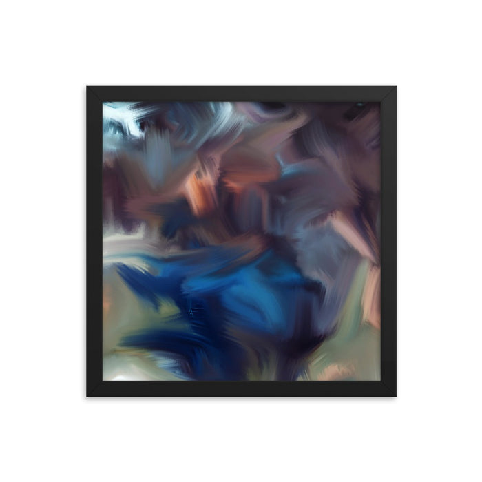 Cyclone Moment Art Print - Enhanced Matte Print / Frame / 14×14