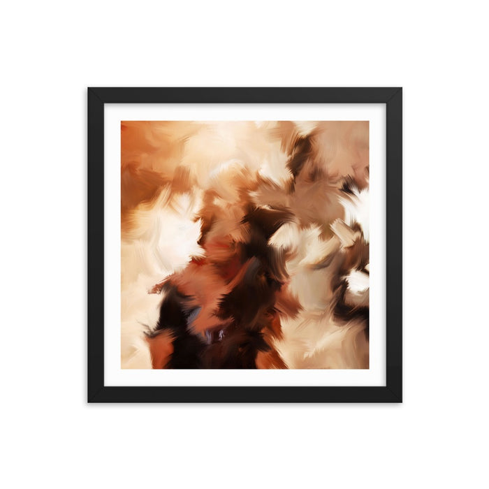 Mid Summer Kiss Art Print - Enhanced Matte Print - White Border / Frame / 14×14