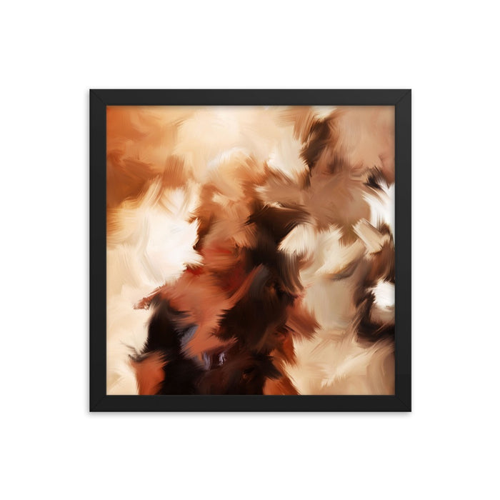 Mid Summer Kiss Art Print - Enhanced Matte Print / Frame / 14×14
