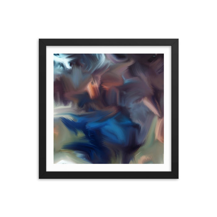 Cyclone Moment Art Print - Enhanced Matte Print - White Border / Frame / 14×14