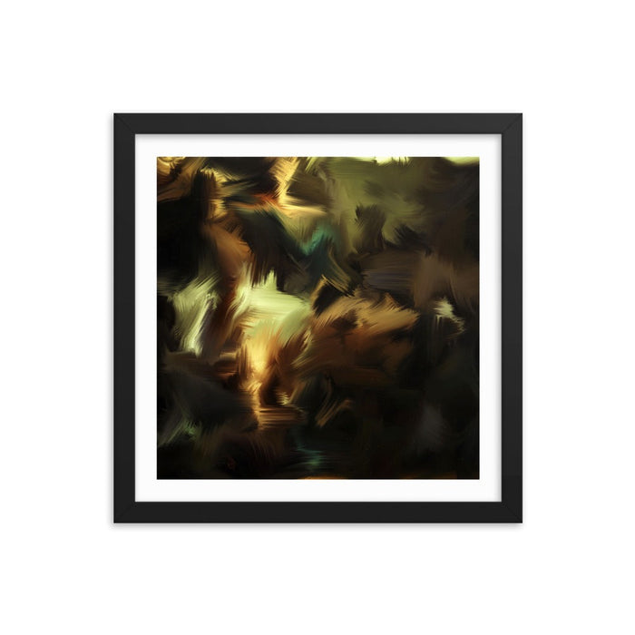 A Studious Pupil Art Print - Enhanced Matte Print - White Border / Frame / 14×14
