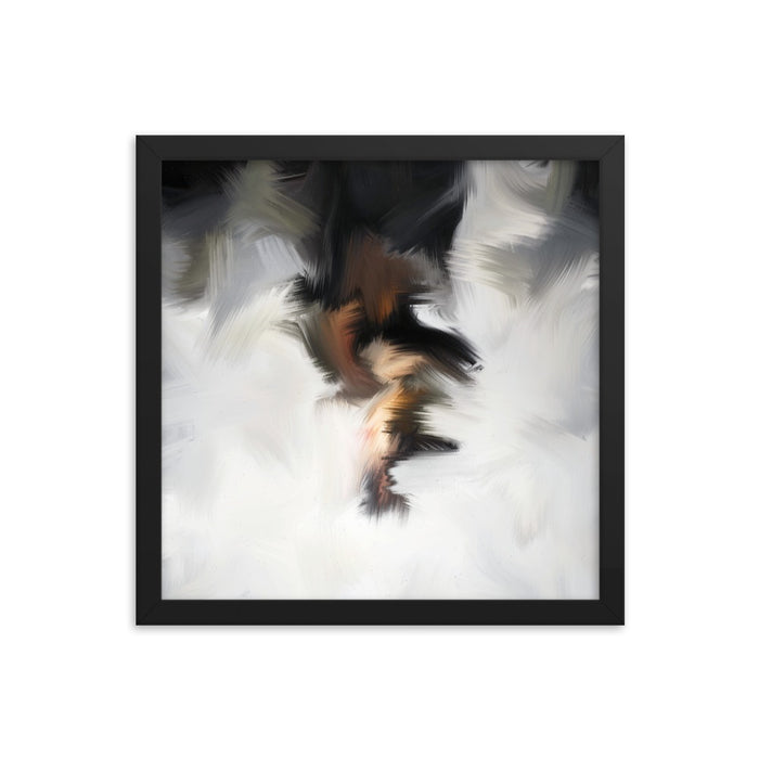 Van Bay Art Print - Enhanced Matte Print / Frame / 14×14
