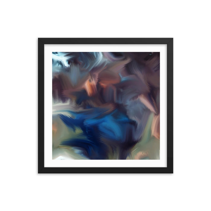Cyclone Moment Art Print - Enhanced Matte Print - White Border / Frame / 16×16