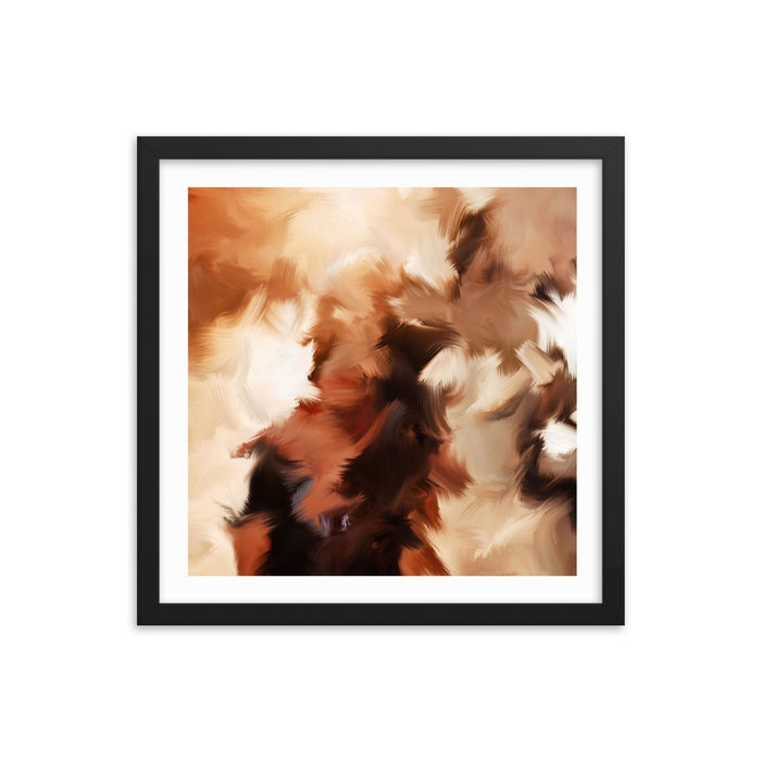 Mid Summer Kiss Art Print - Enhanced Matte Print - White Border / Frame / 16×16