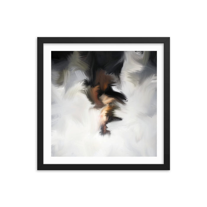 Van Bay Art Print - Enhanced Matte Print - White Border / Frame / 16×16