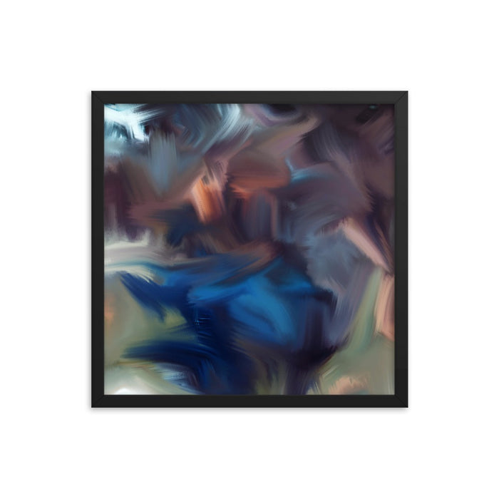 Cyclone Moment Art Print - Enhanced Matte Print / Frame / 18×18