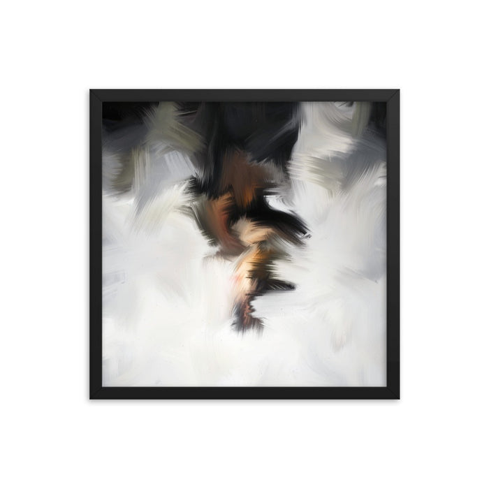 Van Bay Art Print - Enhanced Matte Print / Frame / 18×18