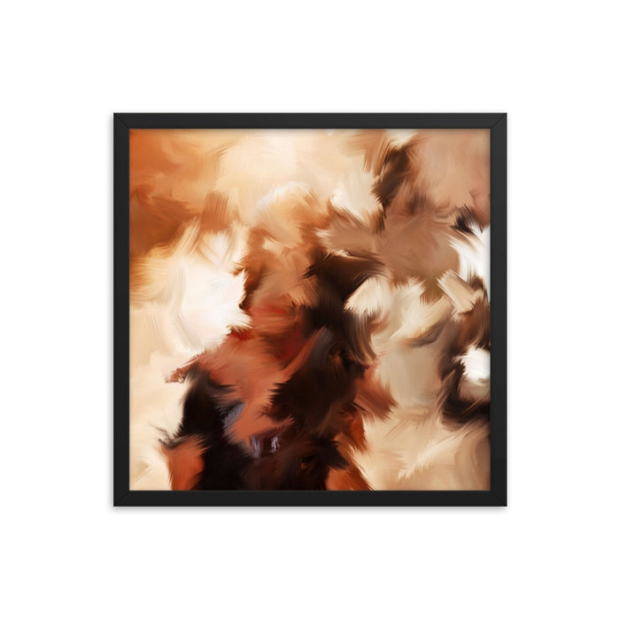 Mid Summer Kiss Art Print - Enhanced Matte Print / Frame / 18×18