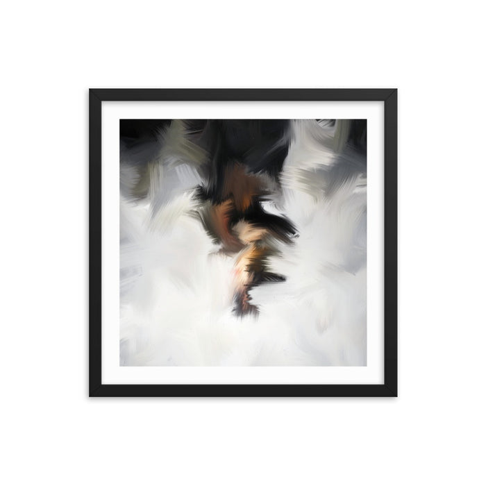 Van Bay Art Print - Enhanced Matte Print - White Border / Frame / 18×18