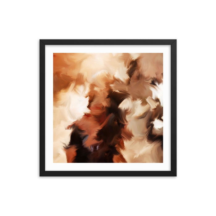 Mid Summer Kiss Art Print - Enhanced Matte Print - White Border / Frame / 18×18