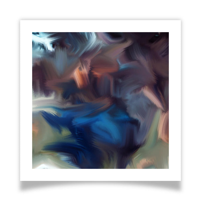 Cyclone Moment Art Print - [border]