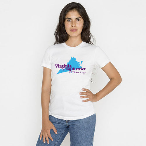 Virginia is My District Ladies' T-Shirt