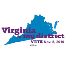 Load image into Gallery viewer, Virginia is My District Women's Tee