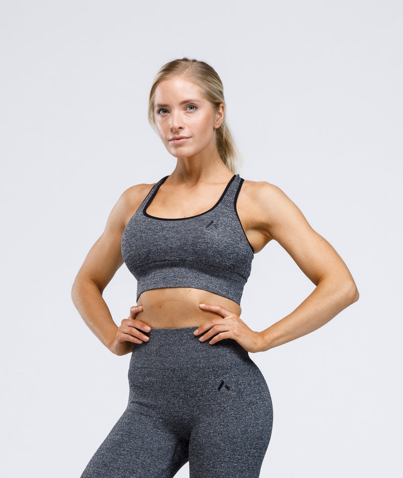 STRIVE Sports Bra - Gray