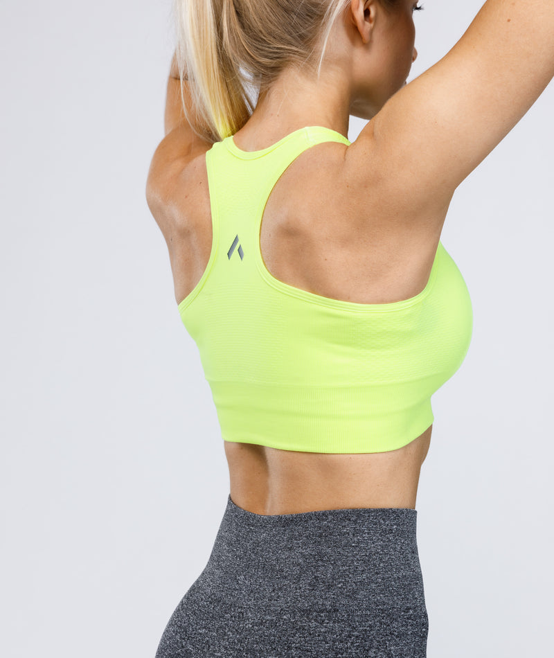 STRIVE Sports Bra - Neon Green