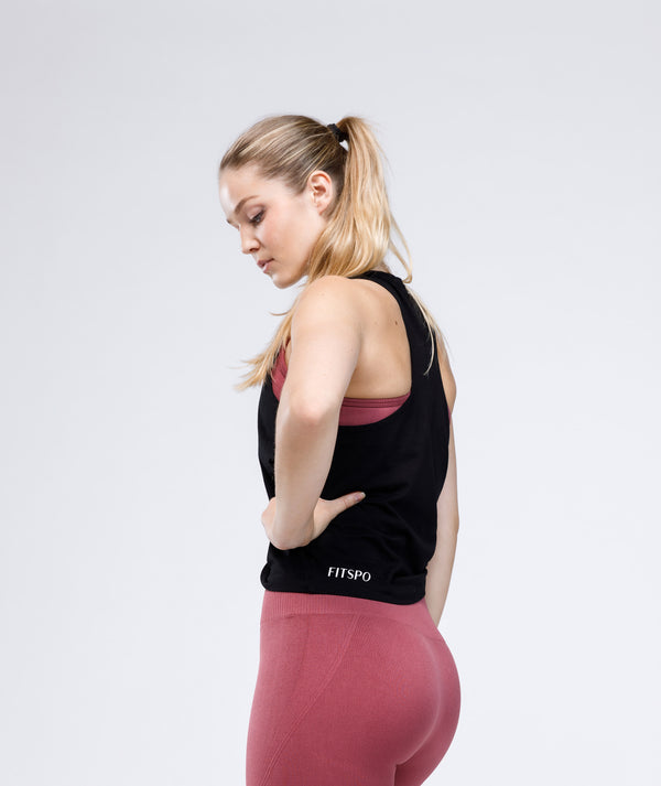 ORIGIN Tank Top - Black