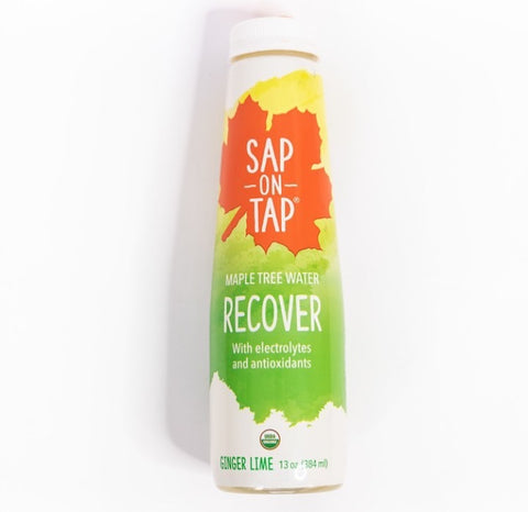 Sap on Tap Water RECOVER (GINGER LIME) 13 oz.