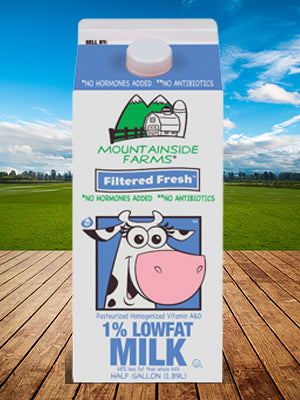 Mountainside Farms Filtered Fresh Milk 64 oz