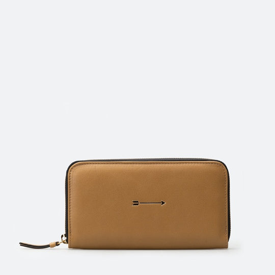Cartera Continental Grande Curry