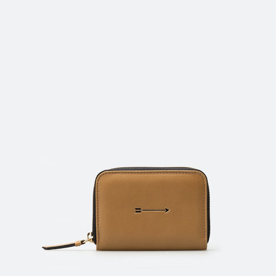 Cartera Continental mediana curry frontal