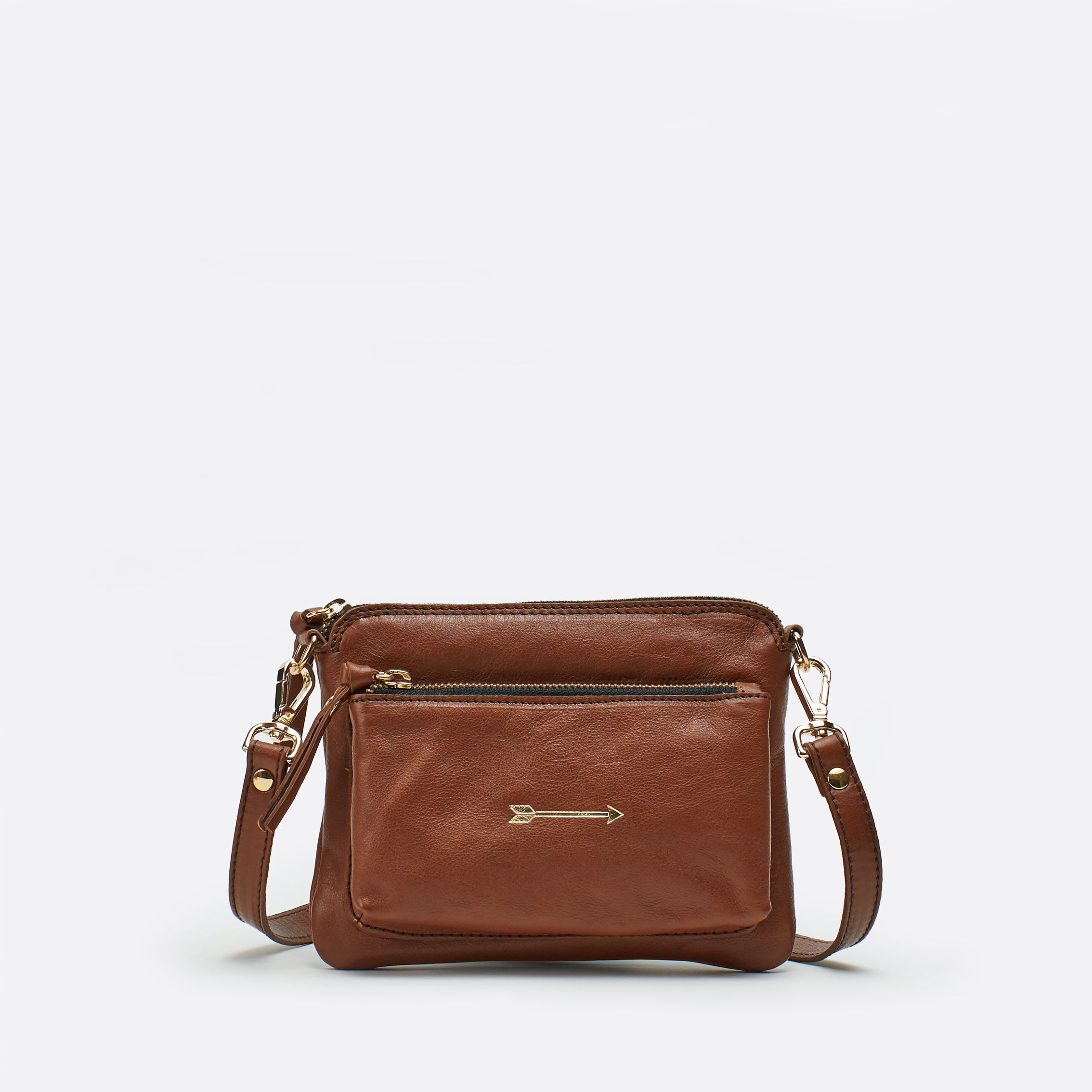 Bugsy small arrow Marron