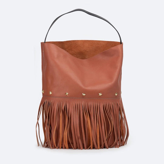 Racer Bucket Fringes Blush