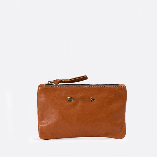 Wallet arrow Tan