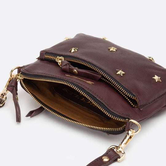 Bugsy Small Stars Burgundy