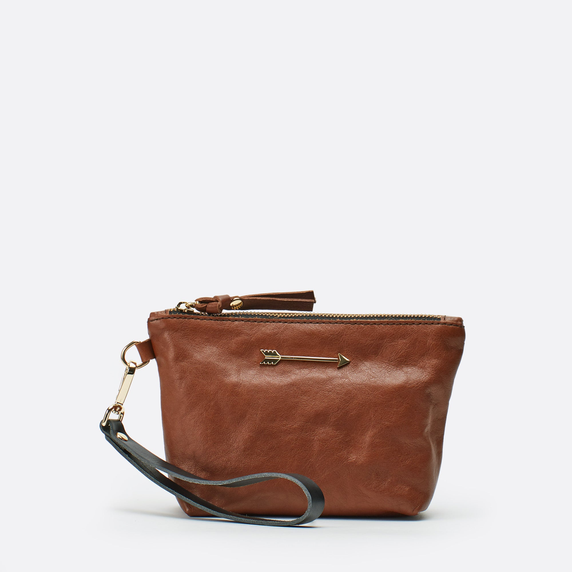 Mini bag arrow Marron