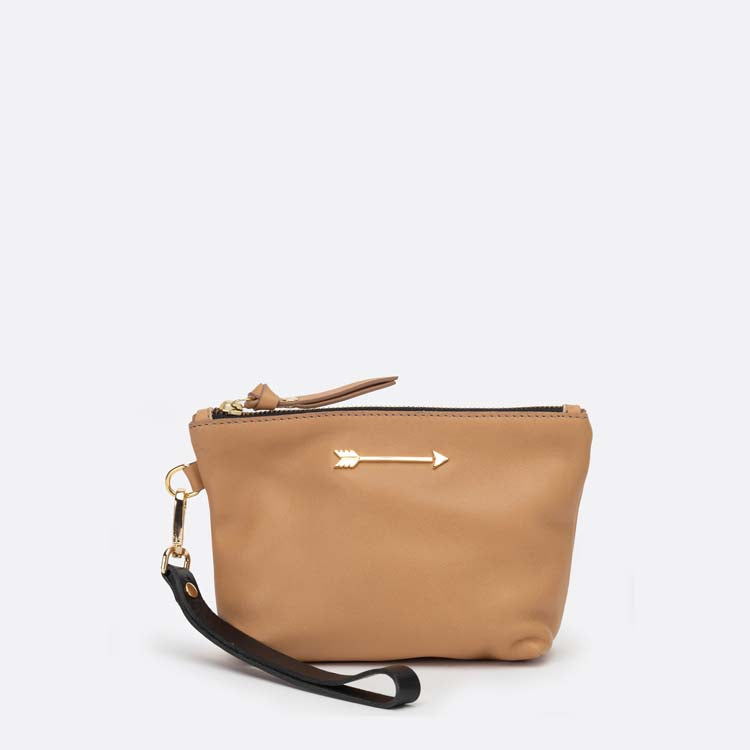 Mini Bag Arrow Camel