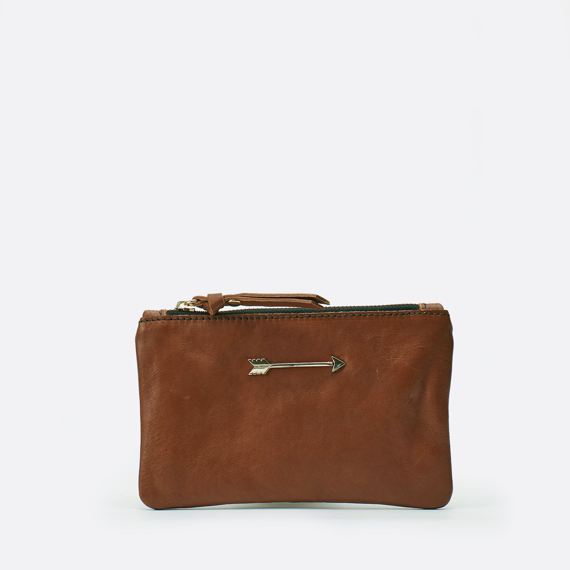 Wallet arrow Marron