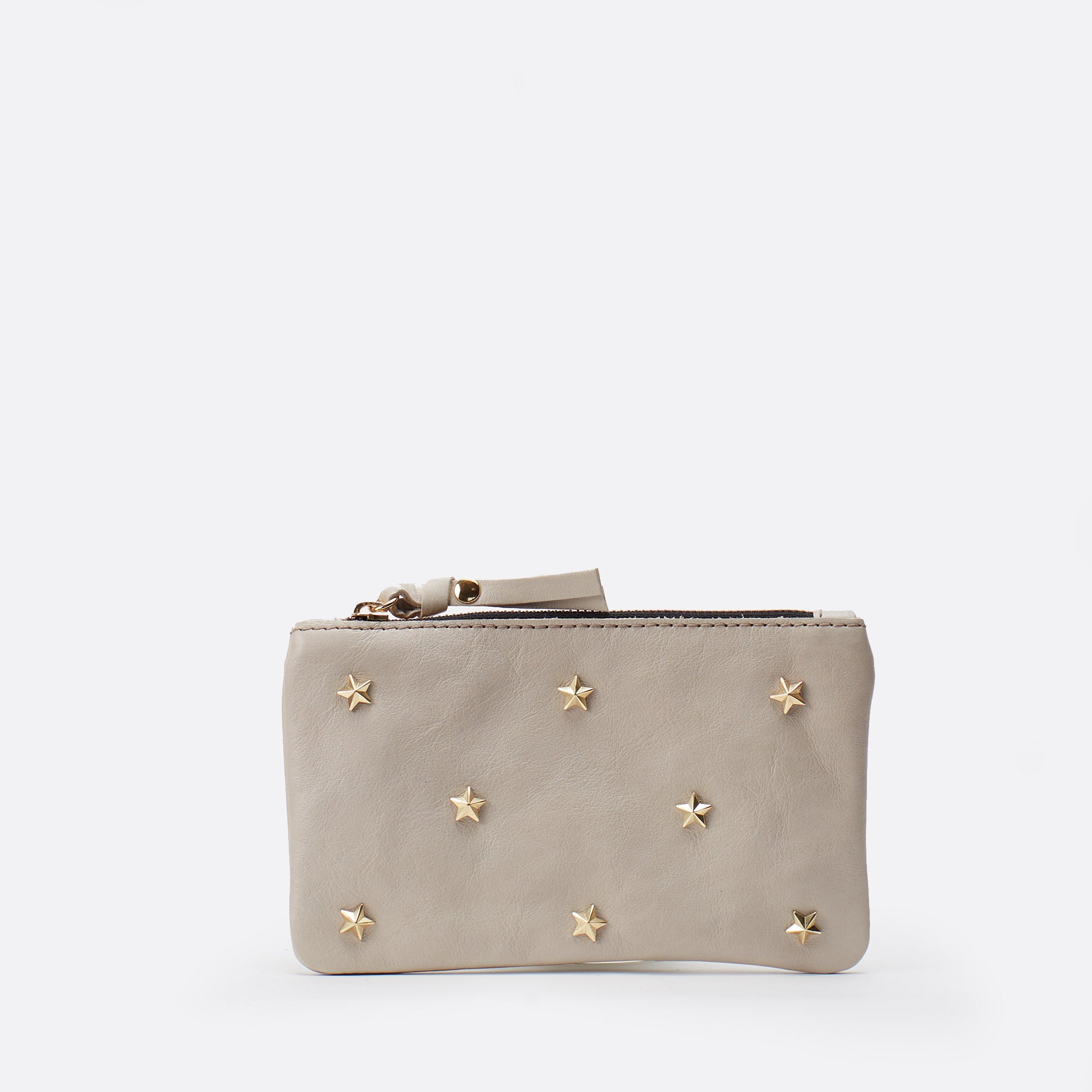 Wallet stars Gris