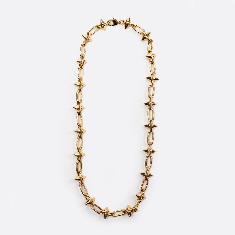 Collar spike oro