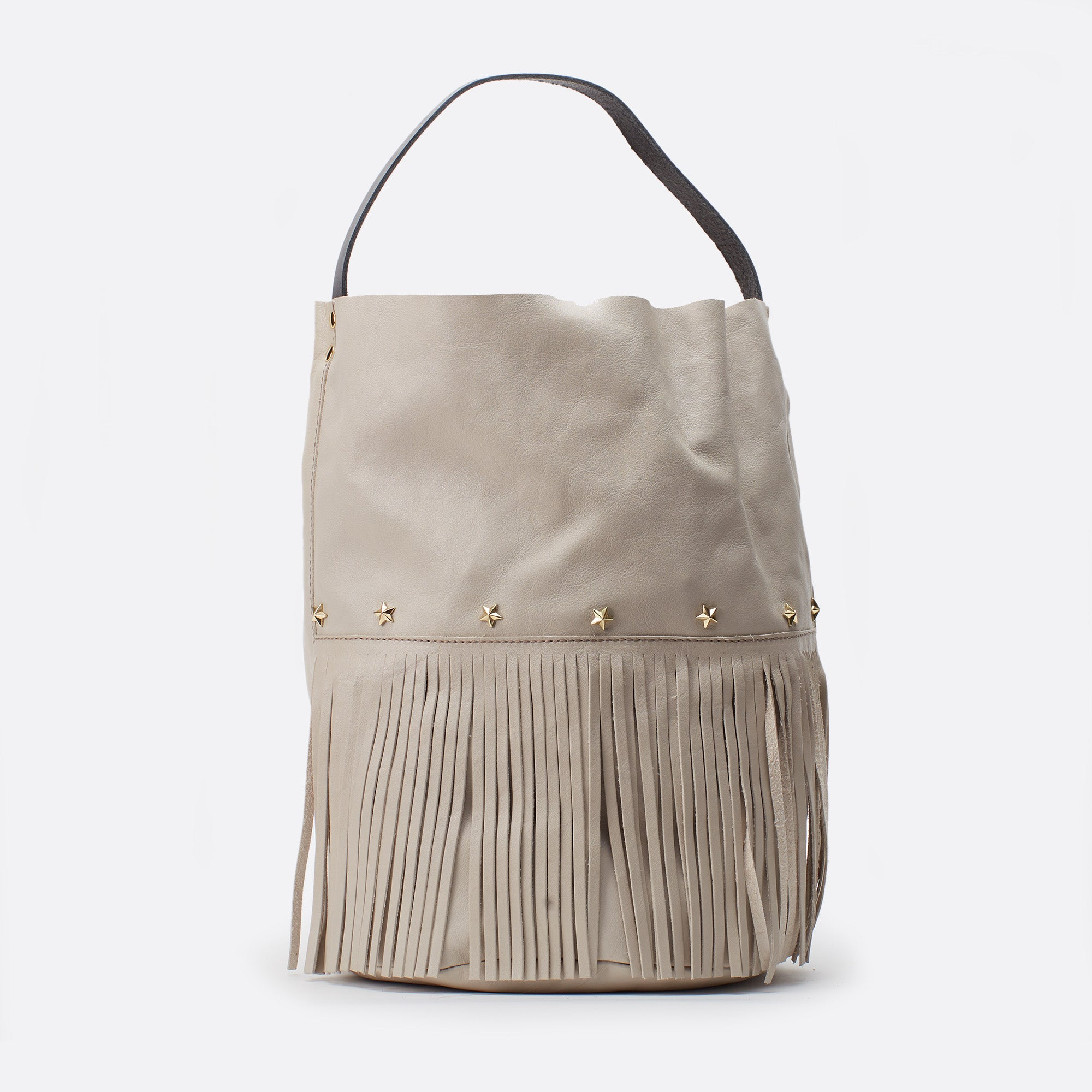 Racer bucket fringes Gris