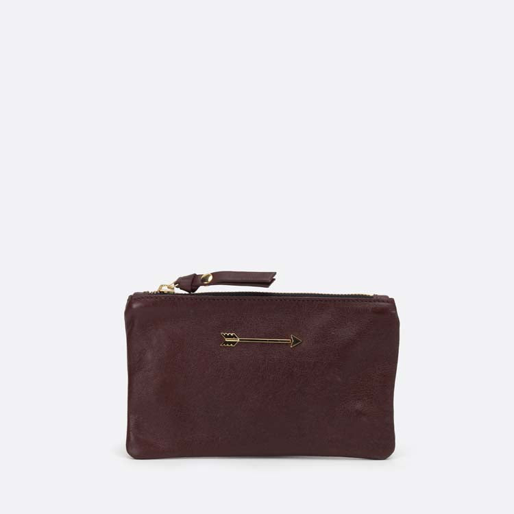 Wallet Arrow Burgundy