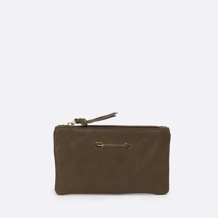 Wallet Arrow Olive