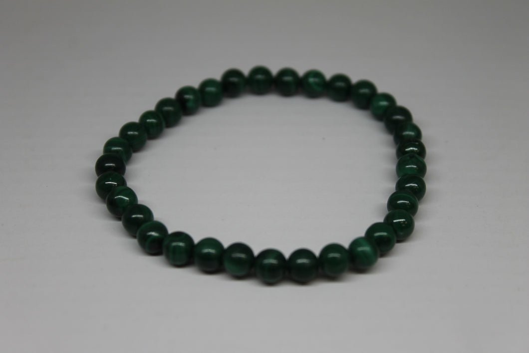 Malachite - bracelet 6 mm
