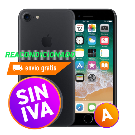 Apple iPhone 7 32 GB Negro Mate Reacondicionado