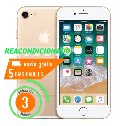 Apple iPhone 7 32 GB Dorado Reacondicionado