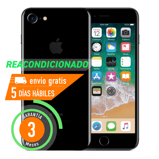 Apple iPhone 7 32 GB Negro Brillante Reacondicionado