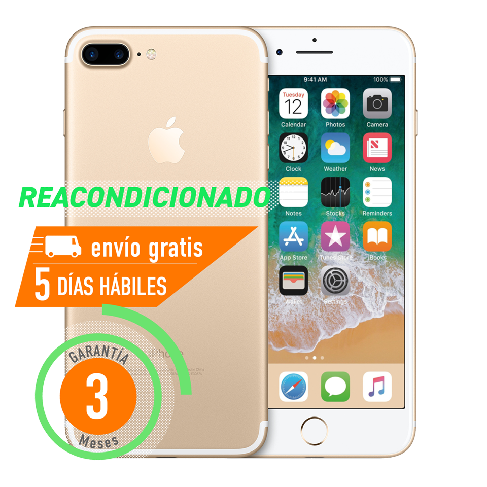 Apple iPhone 7 Plus 32 GB Dorado Reacondicionado